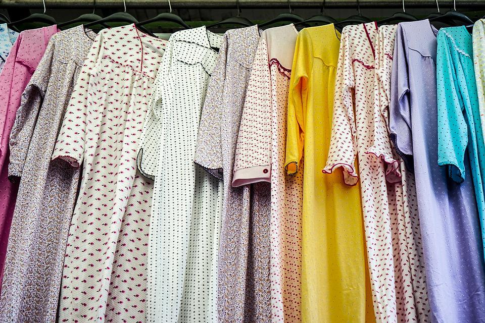 Váy ngủ Quảng Châu - Mốt váy được phái nữ yêu chuộng