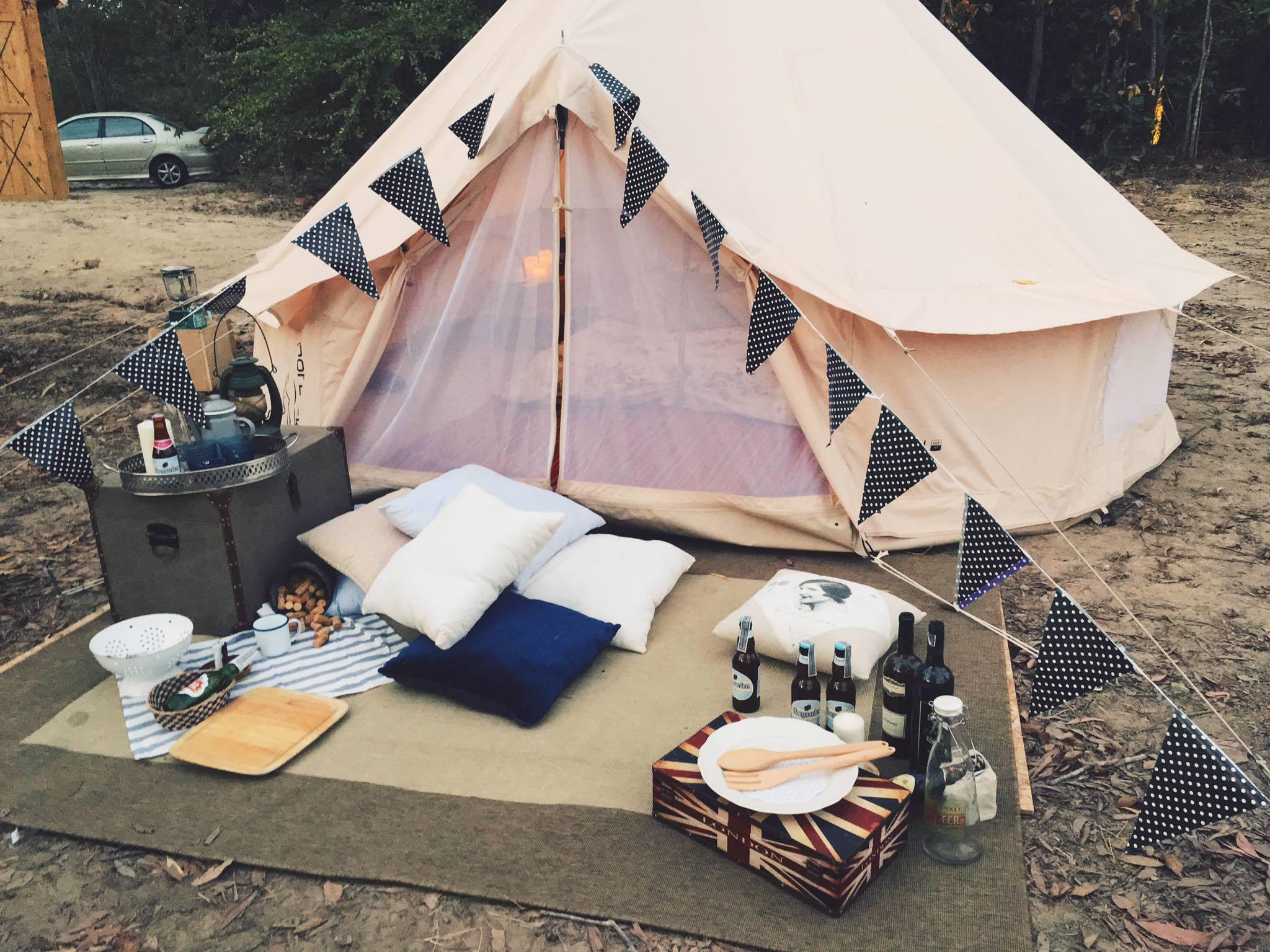Đồ cắm trại - Những vật dụng không thể bỏ qua