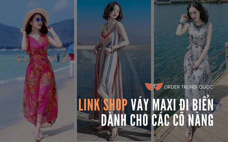 Link Shop váy maxi đi biển dành cho các cô nàng