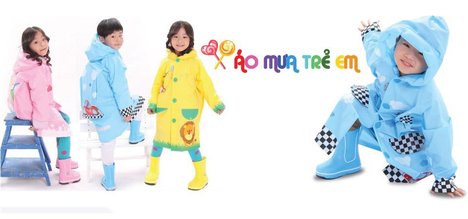 Áo mưa trẻ em - Tiêu chuẩn chọn an toàn